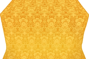 Gloksiniya silk (rayon brocade) (yellow/gold)