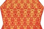 Gloksiniya silk (rayon brocade) (red/gold)