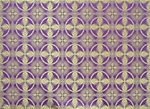 Izborsk metallic brocade (violet/gold)