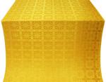 Izborsk silk (rayon brocade) (yellow/gold)