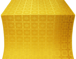 Izborsk silk (rayon brocade) (yellow/gold)