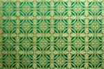 Izborsk silk (rayon brocade) (green/gold)