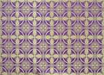Izborsk silk (rayon brocade) (violet/gold)