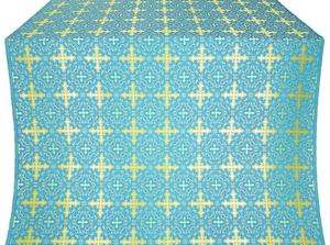 Polotsk metallic brocade (blue/gold)