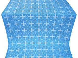 Polotsk metallic brocade (blue/silver)