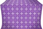 Polotsk metallic brocade (violet/silver)