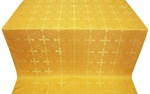 Polotsk silk (rayon brocade) (yellow/gold)