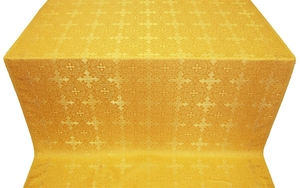 Polotsk silk (rayon brocade) (yellow/gold)
