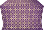 Vasilisa metallic brocade (violet/gold)