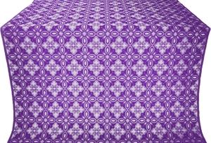 Vasilisa metallic brocade (violet/silver)