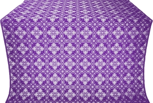 Vasilisa silk (rayon brocade) (violet/silver)