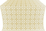 Vasilisa silk (rayon brocade) (white/gold)