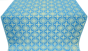 Yaropolk metallic brocade (blue/gold)