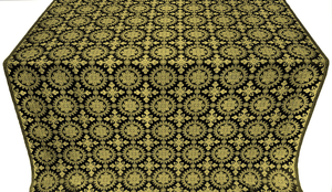 Yaropolk metallic brocade (black/gold)