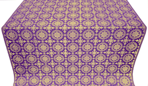 Yaropolk metallic brocade (violet/gold)
