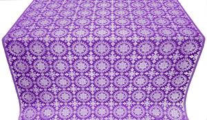 Yaropolk metallic brocade (violet/silver)