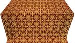 Yaropolk silk (rayon brocade) (claret/gold)