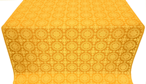 Yaropolk silk (rayon brocade) (yellow/gold)