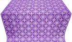 Yaropolk silk (rayon brocade) (violet/silver)