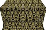 Cassowary metallic brocade (black/gold)