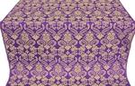 Cassowary metallic brocade (violet/gold)