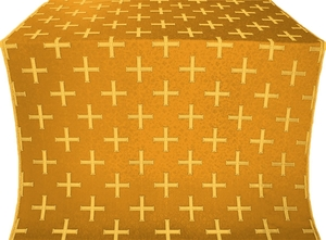 Eufrosinia metallic brocade (yellow/gold)