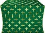 Eufrosinia metallic brocade (green/gold)
