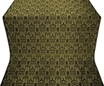 Small Ligouriya metallic brocade (black/gold)