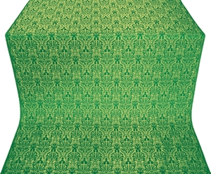 Small Ligouriya metallic brocade (green/gold)