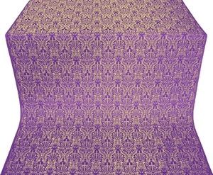 Small Ligouriya metallic brocade (violet/gold)