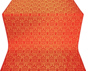 Small Ligouriya metallic brocade (red/gold)