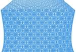 Simbirsk metallic brocade (blue/silver)