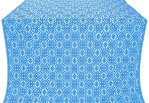 Simbirsk metallic brocade (blue/silver)