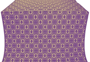 Simbirsk metallic brocade (violet/gold)