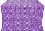 Simbirsk metallic brocade (violet/silver)