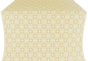Simbirsk metallic brocade (white/gold)