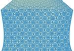 Simbirsk silk (rayon brocade) (blue/gold)