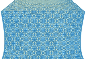 Simbirsk silk (rayon brocade) (blue/gold)