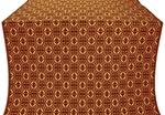 Simbirsk silk (rayon brocade) (claret/gold)