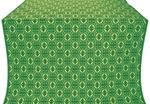 Simbirsk silk (rayon brocade) (green/gold)