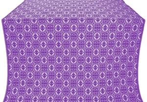 Simbirsk silk (rayon brocade) (violet/silver)