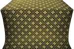 Mirgorod metallic brocade (black/gold)