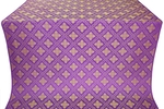 Mirgorod metallic brocade (violet/gold)