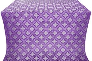 Mirgorod metallic brocade (violet/silver)