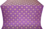 Mirgorod silk (rayon brocade) (violet/gold)
