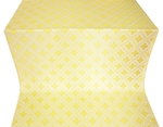 Mirgorod silk (rayon brocade) (white/gold)