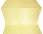 Mirgorod silk (rayon brocade) (white/gold)
