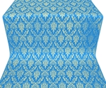 Small Tavriya metallic brocade (blue/gold)