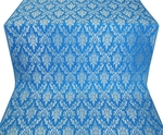 Small Tavriya metallic brocade (blue/silver)