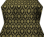 Small Tavriya metallic brocade (black/gold)